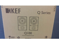 KEF Q100 BLACK BRAND NEW UNOPENED