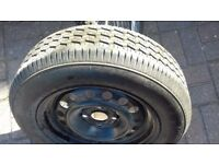 Caravan wheel and tyre. Brand new 4 stud.