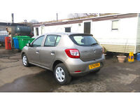 Dacia Sandero - Damage repaired