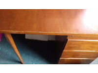 Small wooden study desk