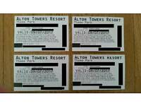 4 Alton tickets for Sunday 9/7/2017