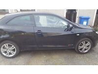 Seat Ibiza 2011 BLACK, low mileage