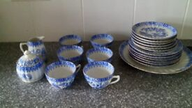 Seltmann china blau tea set 21 pieces