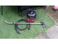 Numatic Henry hoover Bagged Cylinder Vacuum Cleaner Red/Black two speeds