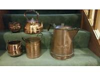 Copper kitchen collection