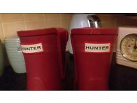 HUNTER BOOTS size 4 NEW