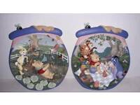Winnie the pooh and friends 3D plates