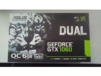 ASUS GeForce DUAL-GTX1060--O6G 6 GB Graphics Card