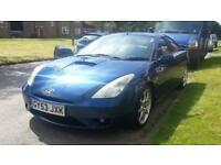 Toyota Celica 1.8 VVT 2003, brand new MOT until Oct 2018