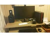 Packard Bell desktop LG monitor end Epson printer