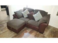 DFS 2 & 3 seater sofa