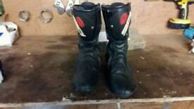 Motorcycle boots sidi