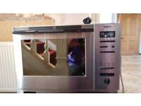 Bosch built-in / integrated combination microwave oven