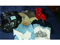 boys 4 to 5 years clothes bundle