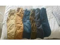 Boys trousers from next