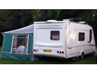 Abbey GTS Vogue 417 caravan - complete with motor movers & awning - excellent condition