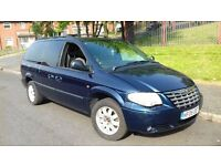 Chrysler Grand Voyager auto 2.8 CRD diesel 2005 stow and go 12 months mot