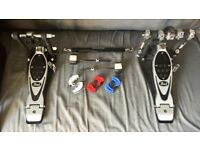 Pearl PowerShifter Eliminator P2002C Double Pedal with Carrying Case