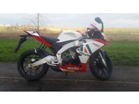 Rs4 125 (mint)(not yzf kot cbr )