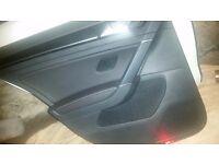 VW golf R mk 7 door cards black