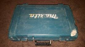 Makita drill and case