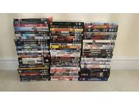 74 DVDs for sale