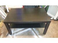 coffee table black