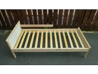 Toddler Bed (Ikea)