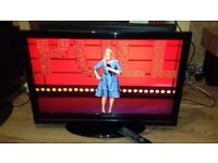 37 inch tv with remote fully working order LCD HD Ready Freeview HDMIx2