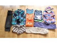Boy's cosy clothes bundle for 4-5 years includes Benetton, Next and BabyGap