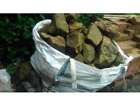 1 Ton of Rockery Stone £100 ONO