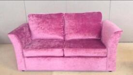 Brand New Pink Sofa Bed - WAS £299