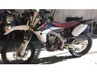 Yamaha YZF 450 injection 2012/2013 low hours