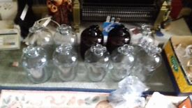 Demi jars 10 for £15 or £3 each to collect brilliant condition