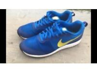 Nike shinsen blue/yellow size 10