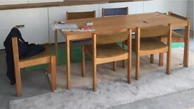 Vintage 1960-70 dining table