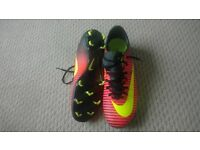 Mens mercurial football boots size 8 worn once