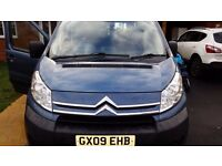 09 PLATE, 9 SEATS CITROËN DISPATCH LWB
