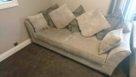 Four Seater Sofa - Excellent Condition (Furniture Village)