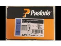 Paslode Straight Brads - 50mm