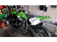 KX 250 2 STROKE/WILL SWAP FOR A CAR