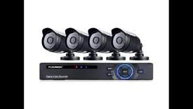 Complete 4 camera CCTV system - brand new in box