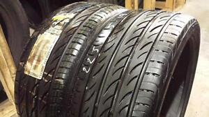 Pair of 2 ~~~ 225/35R19 Pirelli PZero Nero ~~~ SUMMER ~~~ 90-100%tread