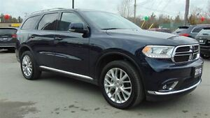 2016 Dodge Durango LIMITED - EXECUTIVE DEMO - ONLY 8,600 KMS !!!