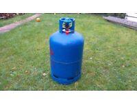 Empty calor gas bottle with regulator ,valve 15kg