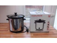 MORPHY RICHARDS - slow cooker (3.5L capacity)