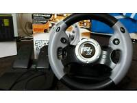 Ps3 and Pc wheel and pedals