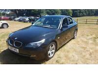 BMW 523i saloon 5 series fsh mot 6 speed 2007 manual gearbox cheap car Kent bargain