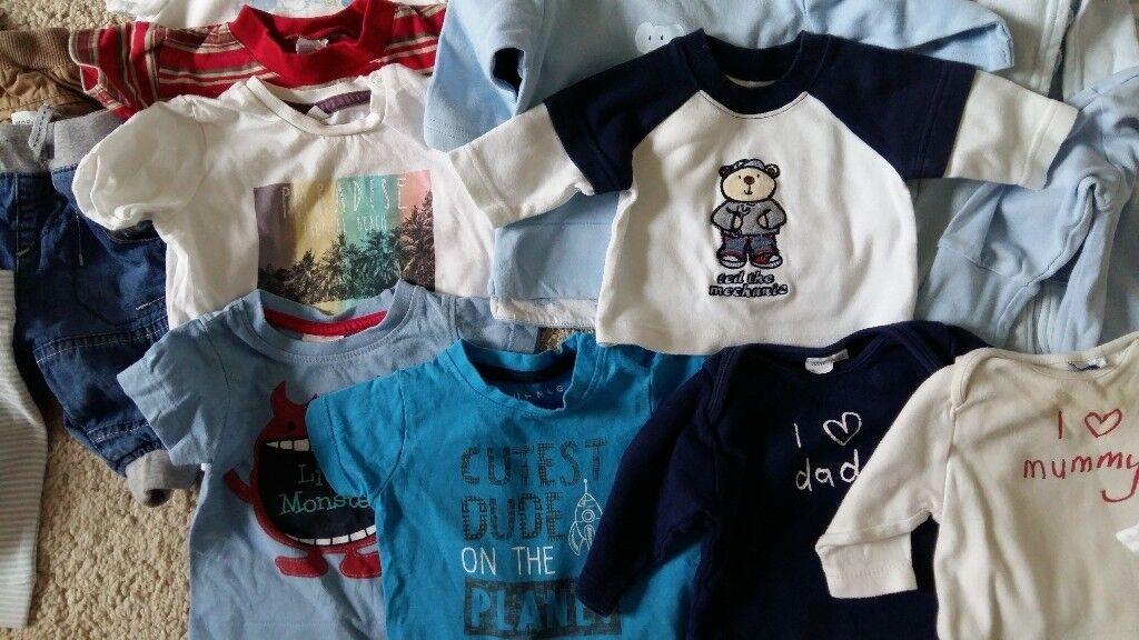 Baby boy clothes bundle 0-3m