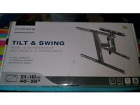 "Vivanco tilt and swivelling tv wall bracket 40""- 55"""